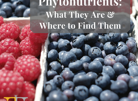 Phytonutrients: What They Are & Where to Find Them