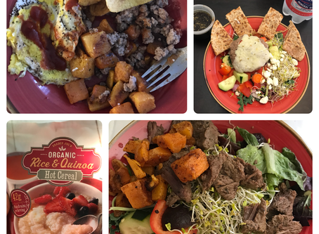 RD Day Eats + The Cost of Leanness