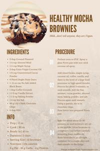 Vegan Mocha Brownie Recipe