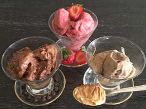 Healthy 2-Ingredient Ice Cream Flavors