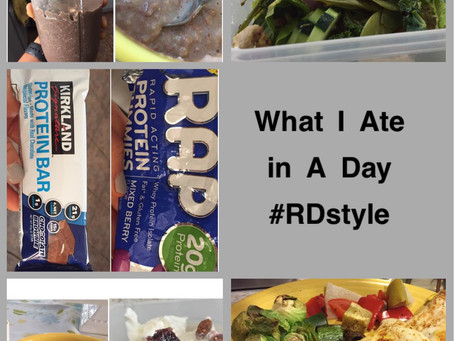 What I Ate in A Day (RD style)