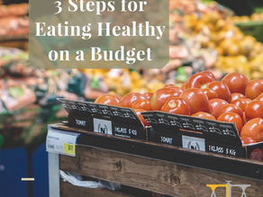 3 Steps for Eating Healthy on a Budget