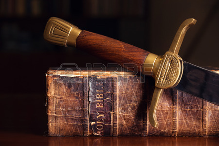 Bible with Sword