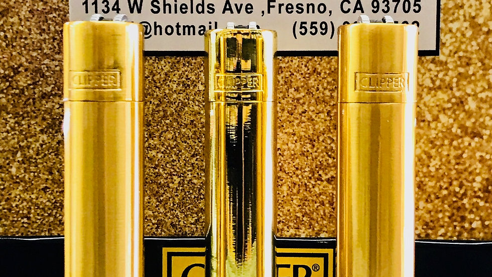Clipper Gold Lighters