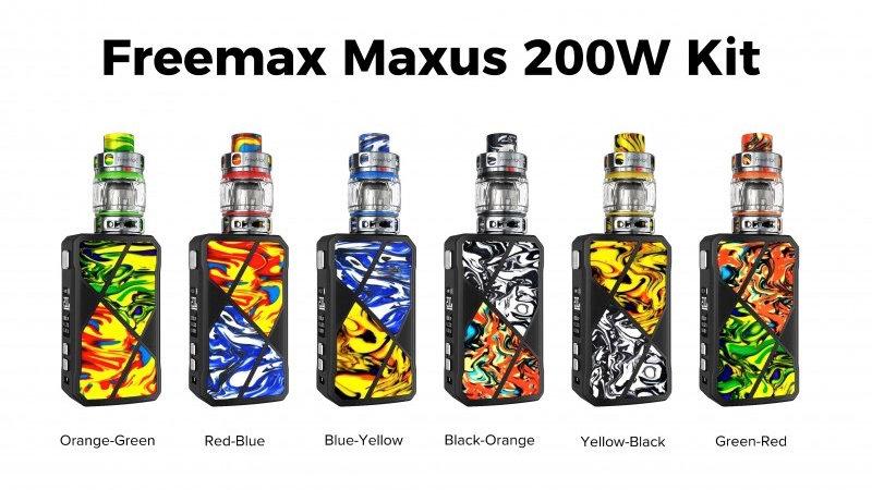 Freemax Maxus 200WKit