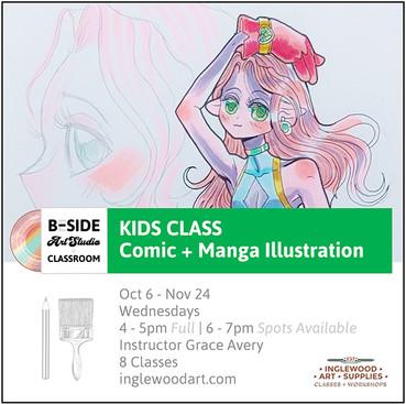 Kids Comic + Manga Illustration