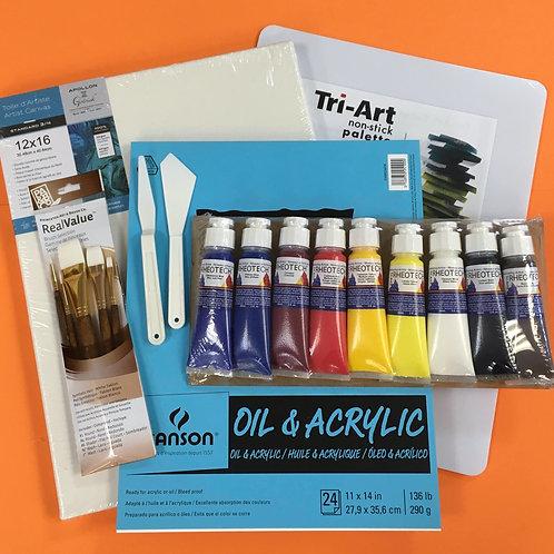 Kit #21 - Intermediate Acrylic