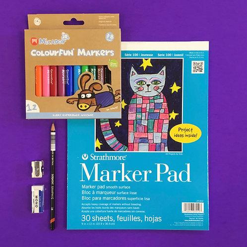 Kit #36 - Kids Markers