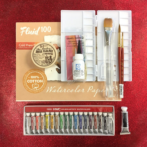 Kit #37 - Deluxe Watercolour