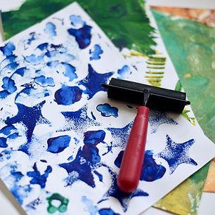 Kids Printmaking