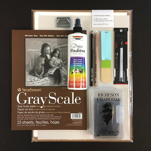 Kit #31 - Intro to Charcoal
