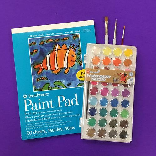 Kit #43 - Kids Watercolour (no.2)
