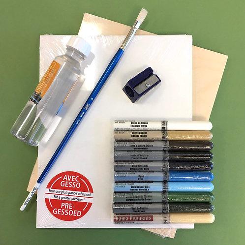 Kit #15 - Plein Air Oil Sticks Set