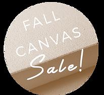 Fall Canvas Sale