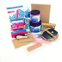 Blockprinting Lino Supplies