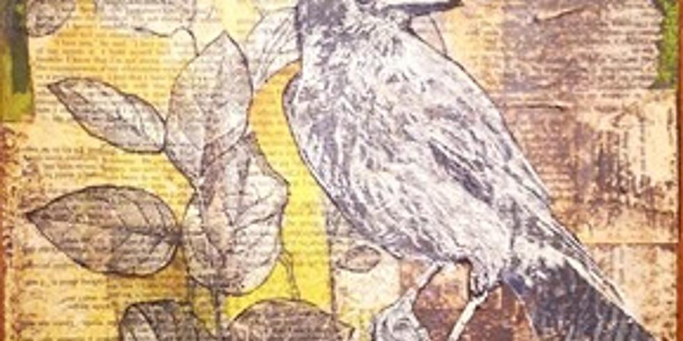 Paint-Along Bird Story   Online