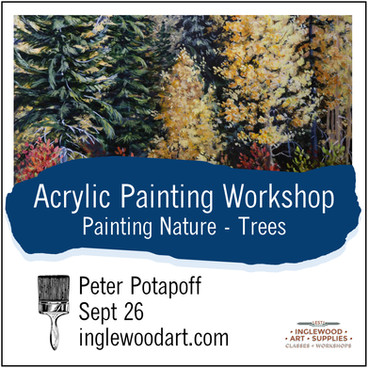 Painting Nature - Trees
