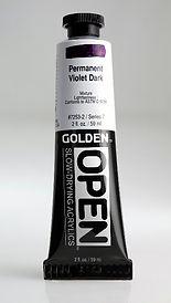 Golden Open Acrylic