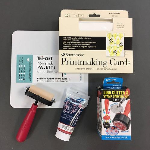 Kit #23 - DIY Printmaking Cards