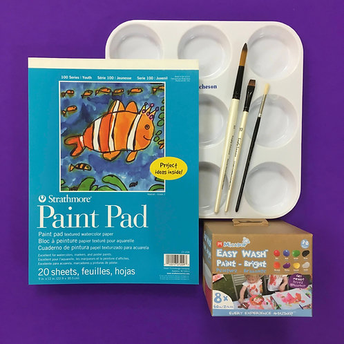 Kit #42 - Kids Paint (Easy Wash)