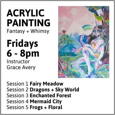 Friday Acrylic Painting