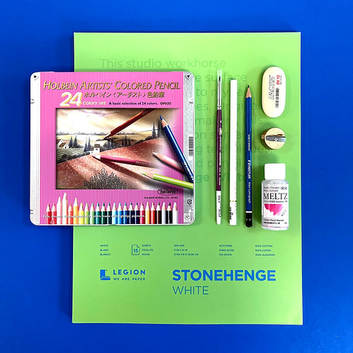 Kit #50 - Deluxe Coloured Pencils