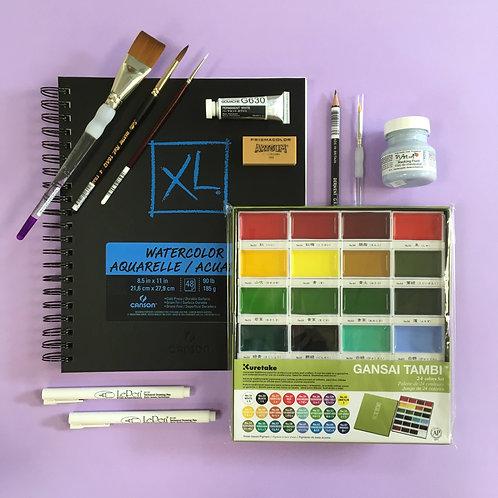 Kit #44 - Watercolour (Grace's Picks)