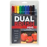 Tombow Dual Brush Pen Primary Set