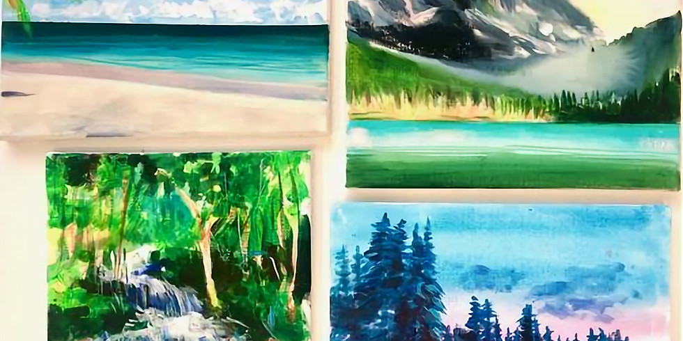 Teen Workshop - Acrylic Painting