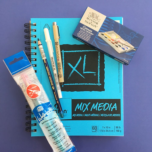 Kit #3 - Watercolour Sketching Kit