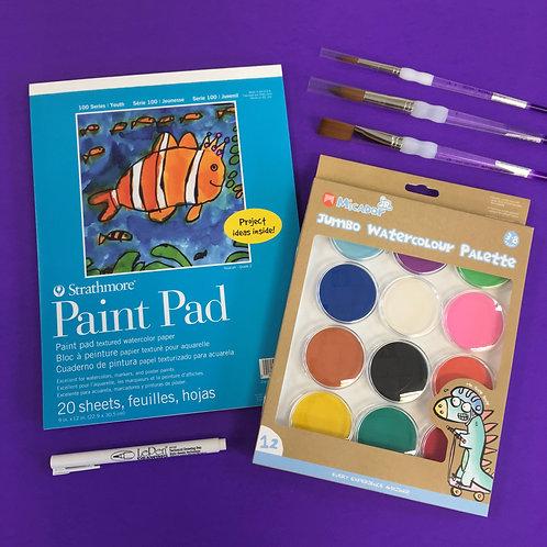Kit #26 - Kids Watercolour