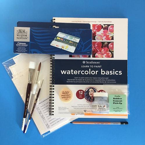 Kit #48 - Intro to Watercolour