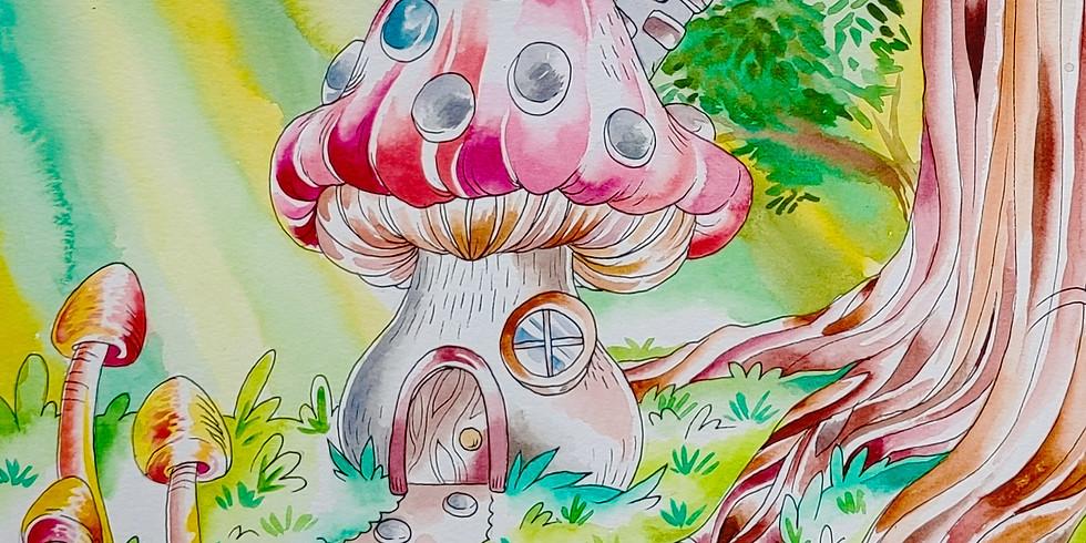 Teen Workshop - Mushroom House