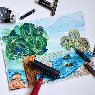 Kids Art Class Bridgeland
