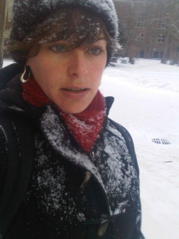 Me. Freezing.