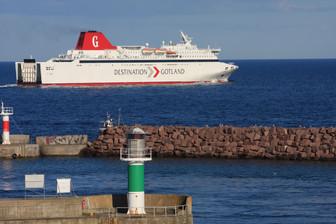 Destination Gotland har fyra färjor i Gotlandstrafiken