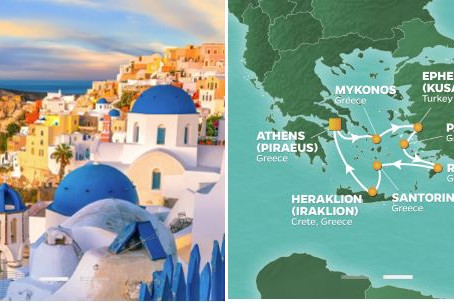 JOIN US FOR AN INCREDIBLE GREEK ISLES DISCOVERY