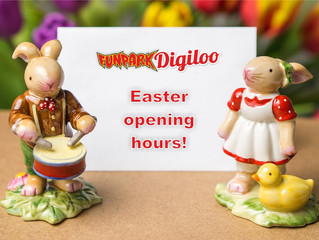 Easter 2017 - openig hours