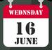 16th of June