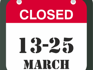Fun Park Digiloo will be closed from 13th to 25th of March