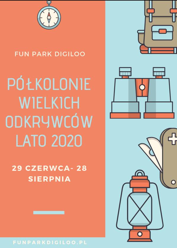Półkolonie letnie Warszawa 2020