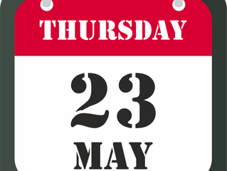 23th of May - CLOSED