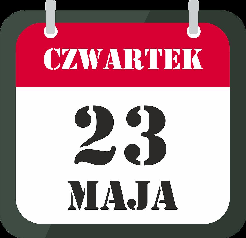 23 maja
