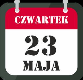 Czwartek 23 maja - ZAMKNIĘTE