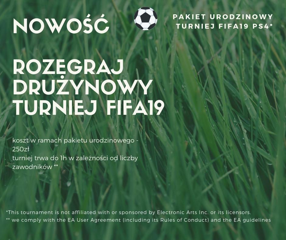 Turniej FIFA 19 na imprezie urodzinowej!