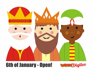 6th of January - Open!