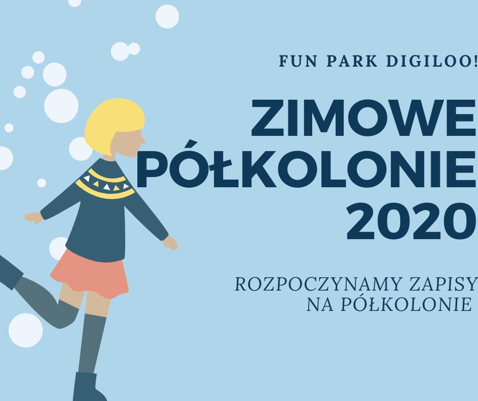 Półkolonie zimowe 2020 Warszawa