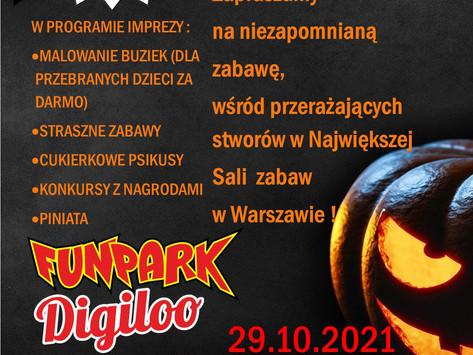 Impreza Halloween`owa 29 października