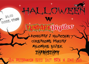 Halloween 2018 w Fun Parku Digiloo