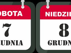 Zmiany w godzinach otwarcia 7 i 8 grudnia
